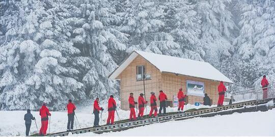 「最低纬度滑雪」六盘水玉舍滑雪2球王会电竞app下载